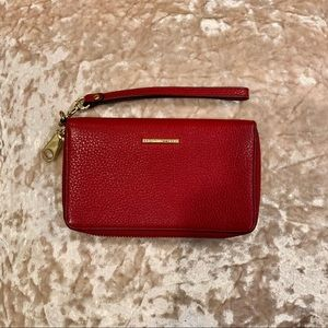 New! Rebecca Minkoff Red Leather Wallet